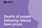 New INQUEST report shows ten people die each week following release from prison