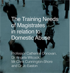 Research report into training needs relating to domestic abuse